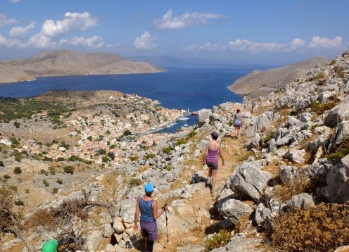 Greece Dodecanese (South) Islands Hiking Tour & Bodrum