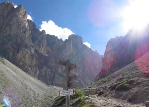 "Dolomites ""Alta Via"" Hiking Tour"
