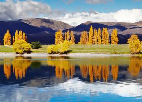 Pinch lake reflection