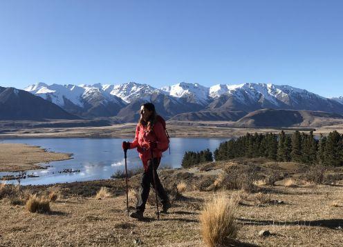 Lake heron walk